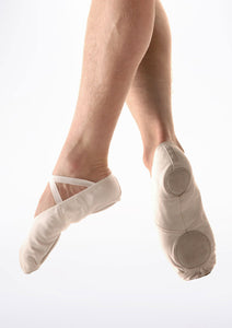 So Danca (001) - Mens - Canvas Split Sole Ballet Slipper