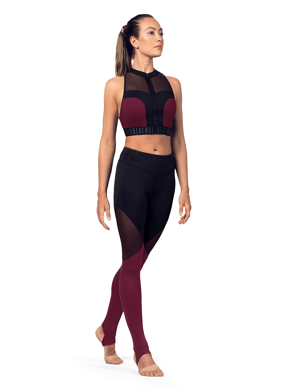 Bloch (FP5196) Paneled Leggings