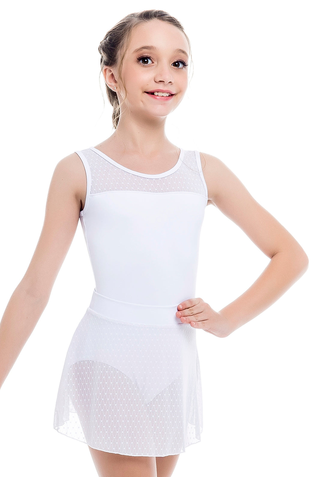 So Danca (L-1907) Tank Mesh Leotard
