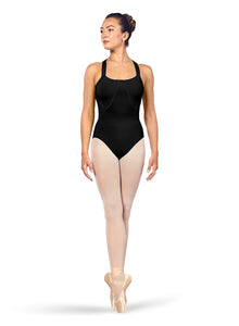 Bloch (L4947) Scoop Neck X-Back Tank Leotard