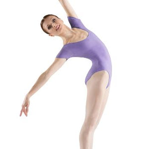 Bloch (C/L5402) - Basic Short Sleeve Leotard