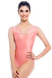So Danca (L-1993) Mesh Tank Leotard