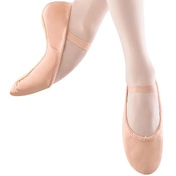 Bloch (205G) - Girl's Dansoft Leather Slipper