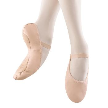 Bloch - Dansoft - Leather Split-Sole Slipper