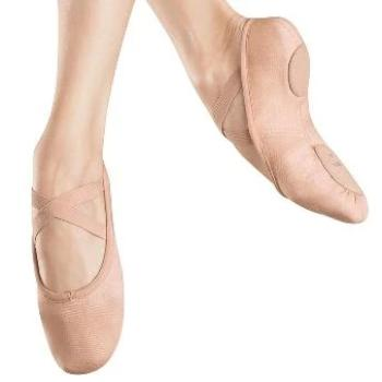 Bloch (282L) Ladies Zenith Stretch Canvas Split-Sole Ballet Slipper