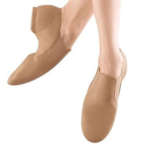Bloch (S0499G/L) - Elasta Bootie Leather Jazz Shoe