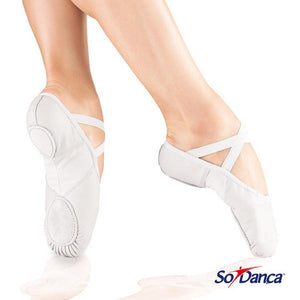 So Danca - Adult - Leather Split Sole Ballet Slippers