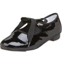 Dance Class (T100) - Girls' - Ribbon Tie Tap Shoe