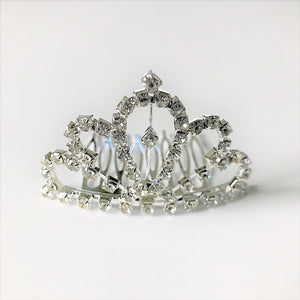 Small Rhinestone Tiara (RT01)
