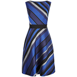 Fenn Wright Manson Space Dress- Black/Blue