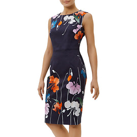 Fenn Wright Manson Sicily Dress- Navy/Multi
