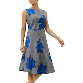 Fenn Wright Manson Toulouse Floral Dress- Blue