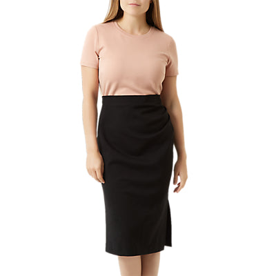 Fenn Wright Manson Petite Victoria Dress- Black/Pink
