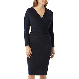 Fenn Wright Manson Petite Sienna Dress- Black/Blue