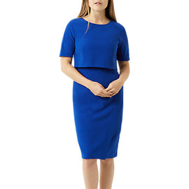 Fenn Wright Manson Petite Daisy Dress- Blue