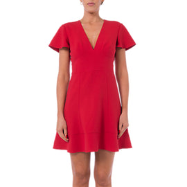 French Connection Ruth Dress- Blazer Red
