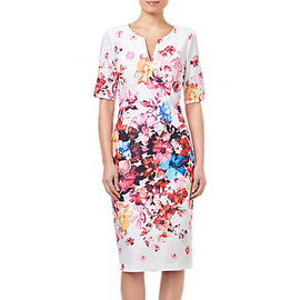 Adrianna Papell Spring in Bloom Dress- Multi