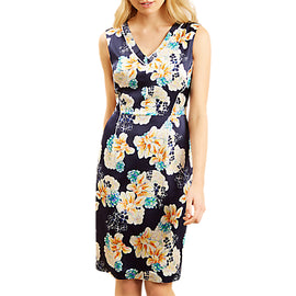 Fenn Wright Manson Reya Dress- Navy Print