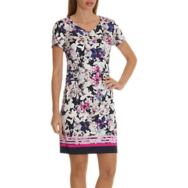 Betty Barclay Floral Print Dress- Multi