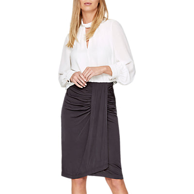 Damsel in a Dress Selma Slinky Skirt- Charcoal