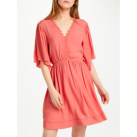 SUNCOO Cara Dress- Orange