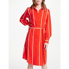 Y.A.S Lillo Shirt Dress- Orange