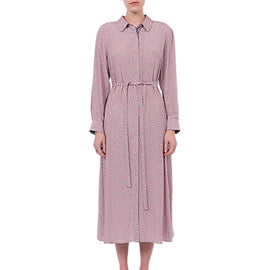 French Connection Elao Drape Shirt Dress- Teagown