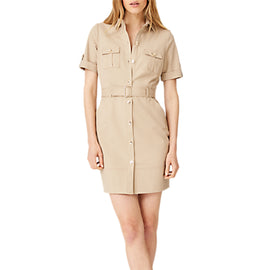 Damsel in a Dress Fia Safari Dress- Stone