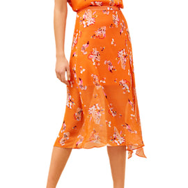 Fenn Wright Manson Tropicana Skirt- Orange