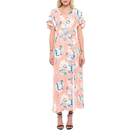 French Connection Cari Crepe Midi Tea Dress