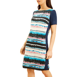 Fenn Wright Manson Petite Ignis Dress- Blue