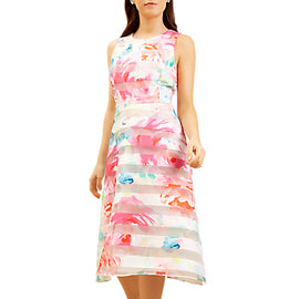 Fenn Wright Manson Petite Rose Garden Dress- Pink