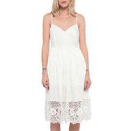 White Stuff Salerno Jersey Dress- Summer White