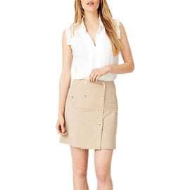 Damsel in a Dress Fia Safari Dress- Neutral Stone