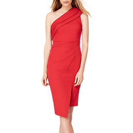 Damsel in a Dress Samira Asymmetric Dress- Red