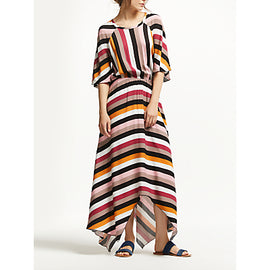 Y.A.S Yascaysa Stripe Dress- Multi