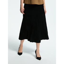 Weekend MaxMara Pleated Skirt- Black
