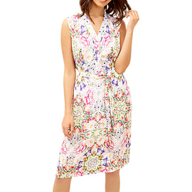 Fenn Wright Manson Renata Floral Print Dress- Multi