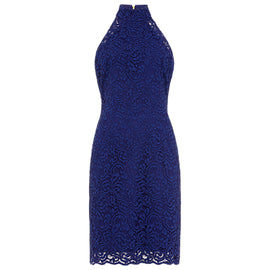 Damsel in a Dress Edolie Lace Dress- Cobalt Blue