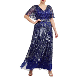 Studio 8 Athena Maxi Dress- Cobalt Blue