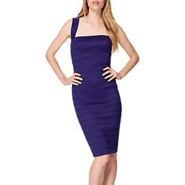 Damsel in a Dress Jasmine Bandage Dress- Purple