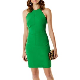 Karen Millen Fitted Pencil Dress- Green