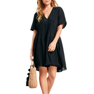 hush Tegan Dress- Black