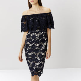 Patience Lace Shift Dress