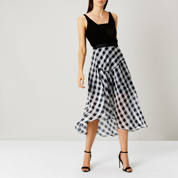 Riki Gingham Skirt