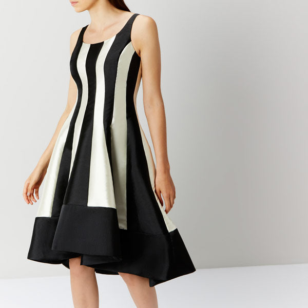 Aria Mono Stripe Dress