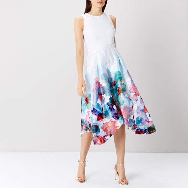 Azure Orsay Midi Dress Sl