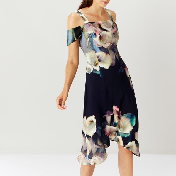 Lily Print Soft Shift Dress