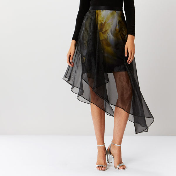 Ada Printed Layer Skirt
