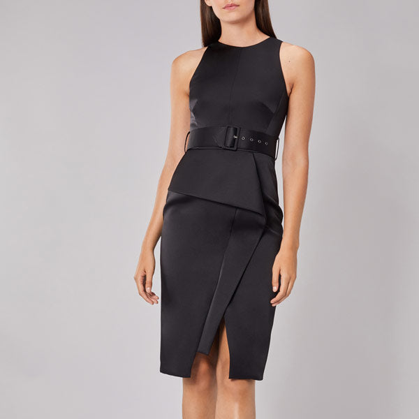 Rosalind Belted Shift Dress